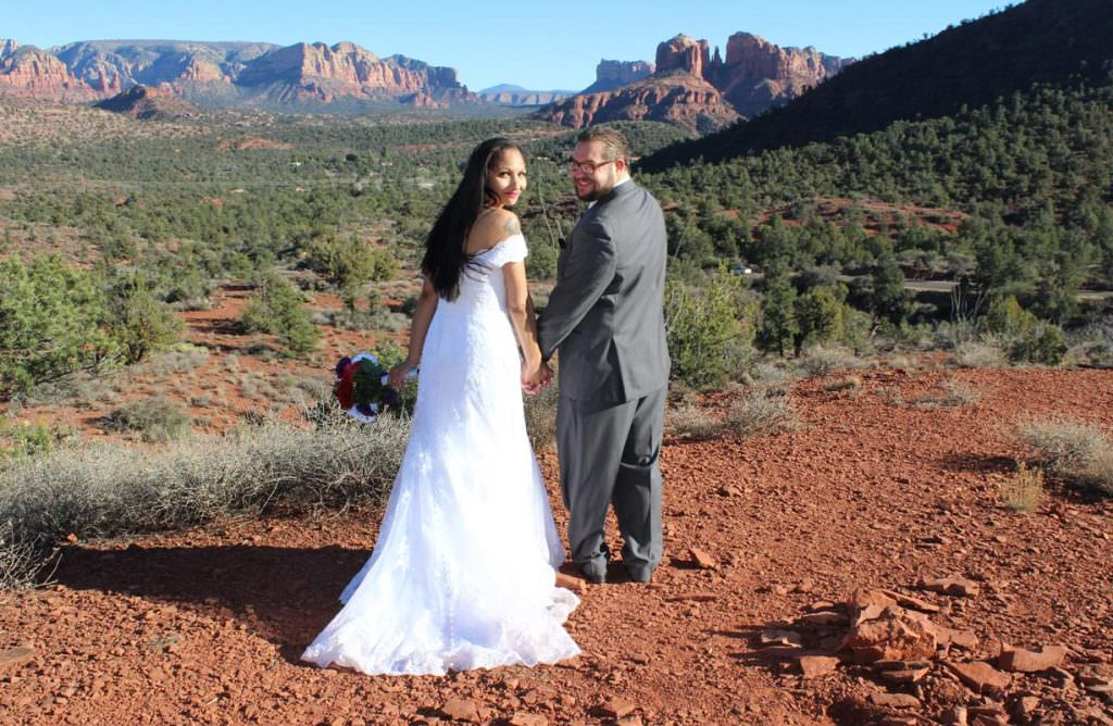 Nichole Jason Sedona Wedding