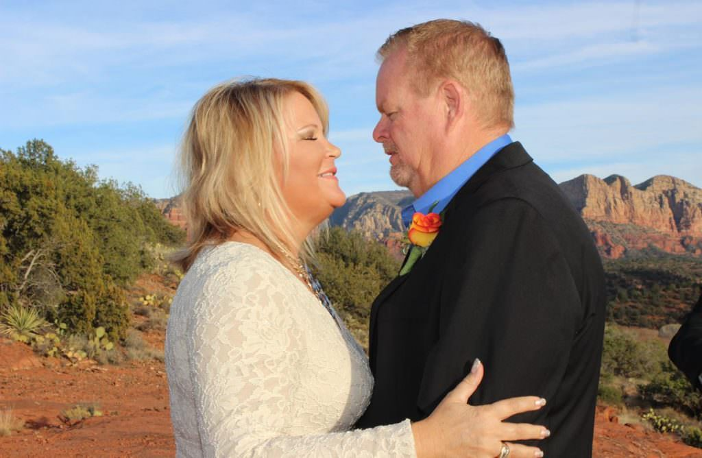 Michelle and Christopher Sedona Wedding