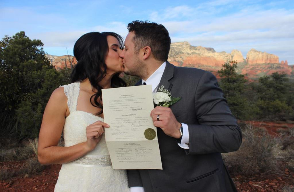 Audrianna Eric Sedona Wedding