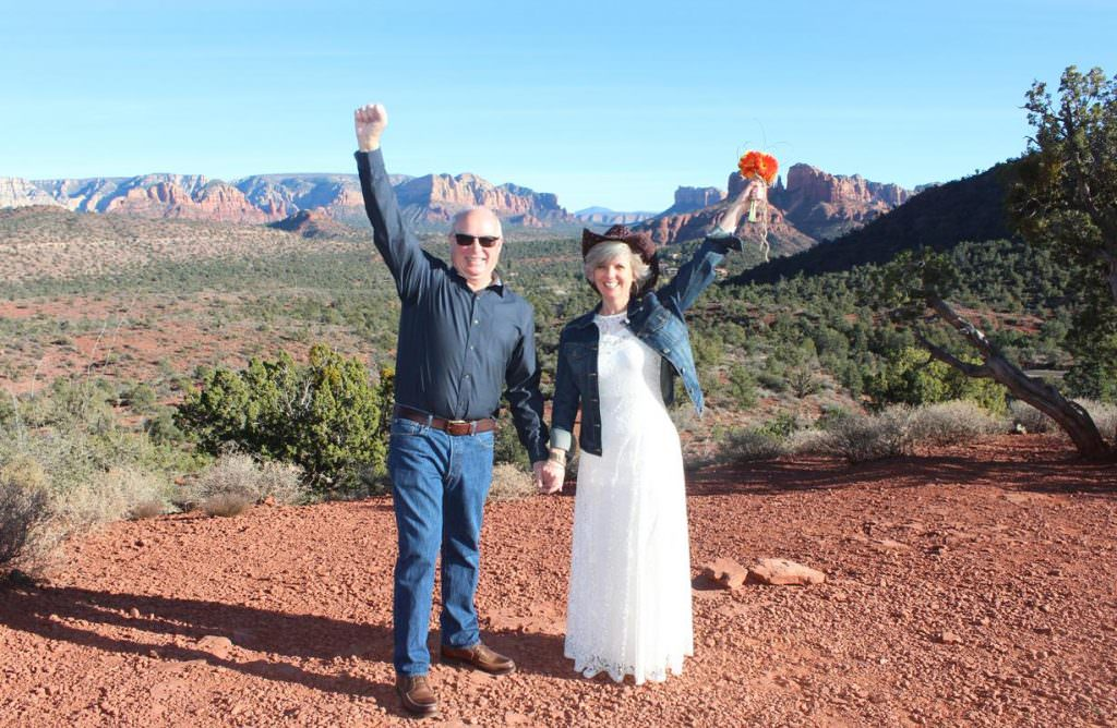 Christina John Sedona Wedding