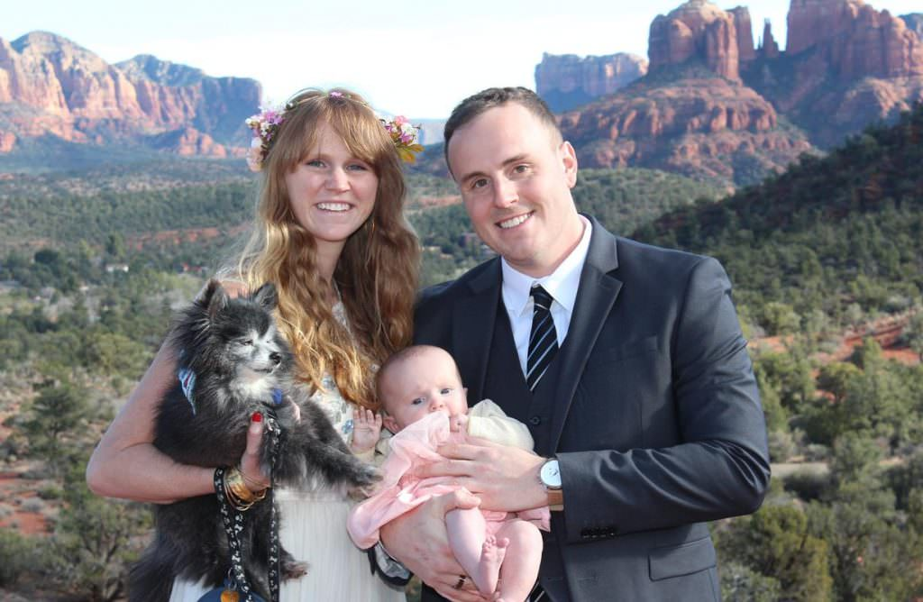 Maighdlin Jesse Sedona Wedding
