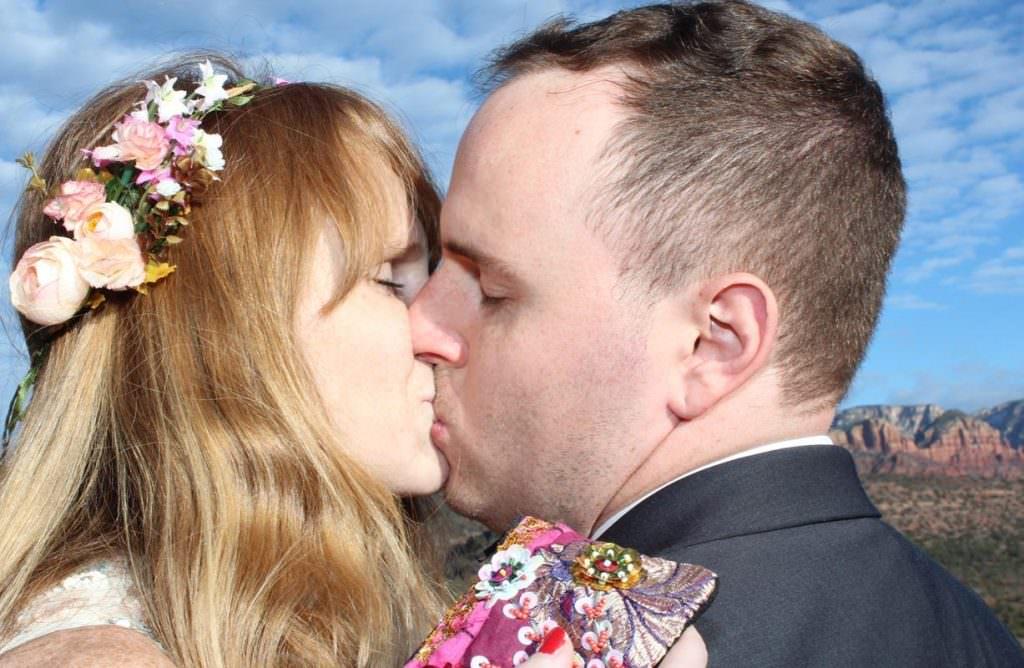 Maighdlin Jesse Sedona Wedding