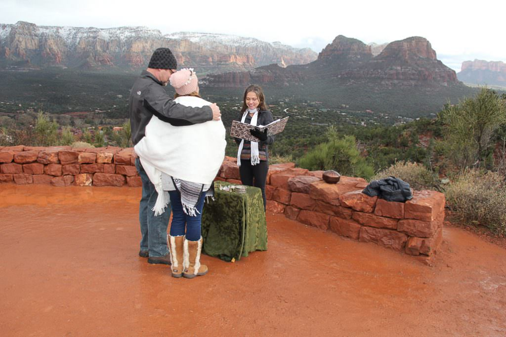 Cindy Rich Sedona Wedding