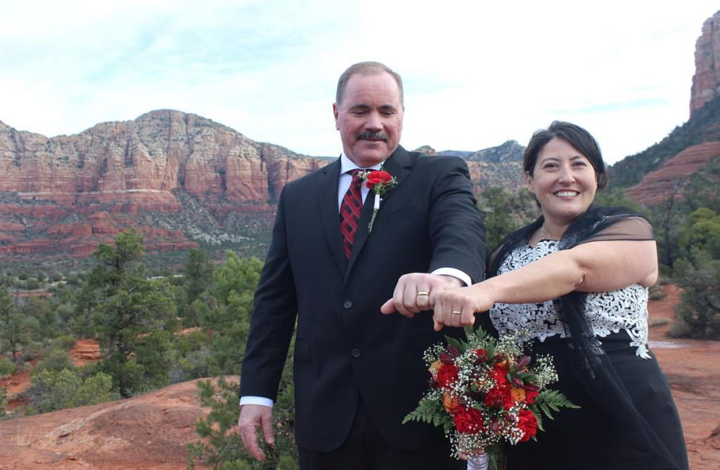 Kim Pete Sedona Wedding