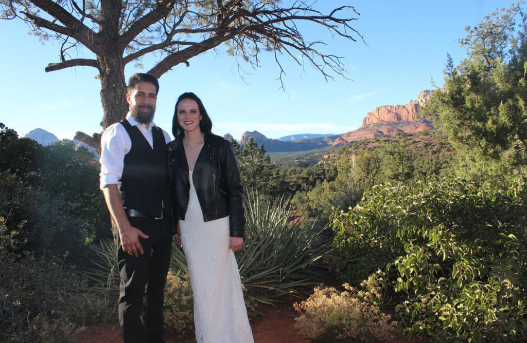 Melissa Jose Sedona Wedding