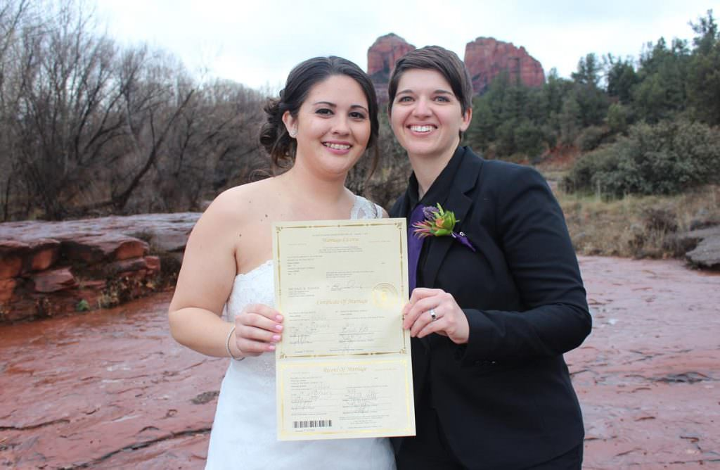 Rachelle Ashley Sedona Wedding