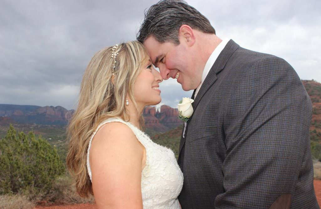 Michelle Jason Sedona Wedding