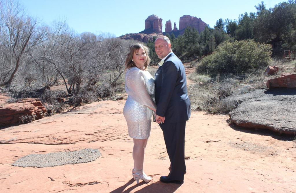 Melissa Bill Sedona Wedding