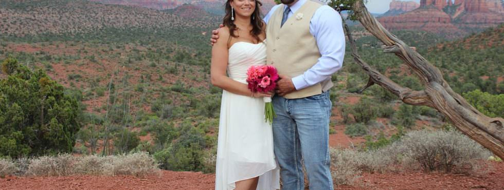Genean and David Just Got Married at Lover's Knoll, Sedona!
