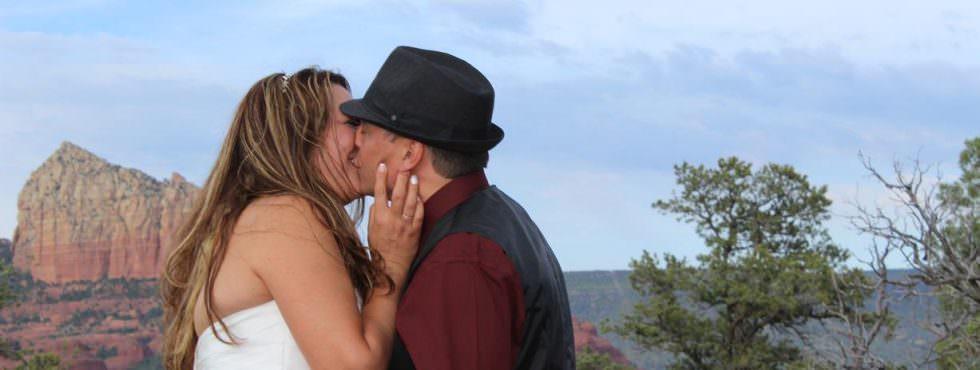 The Sedona Wedding of Martisa and James at Magic Vista