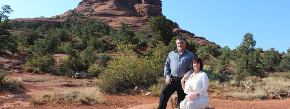 The Wedding of Amy and Joseph at Bell Rock in Sedona