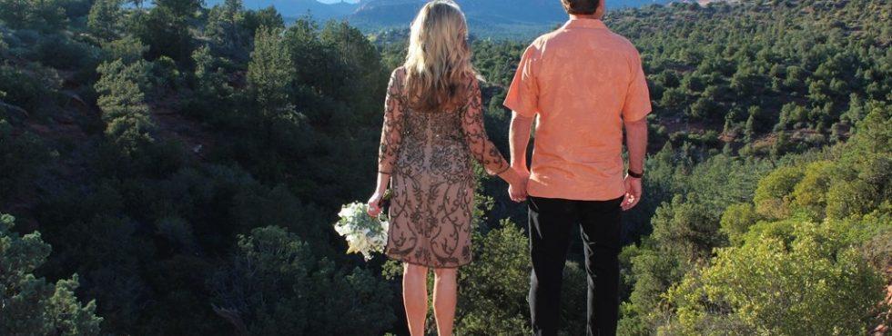 Cordy & Cathy's Sedona Wedding at Huckaby Hollow