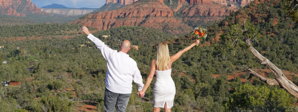 Mary Ann and Chester's Sedona Wedding at Lover's Knoll