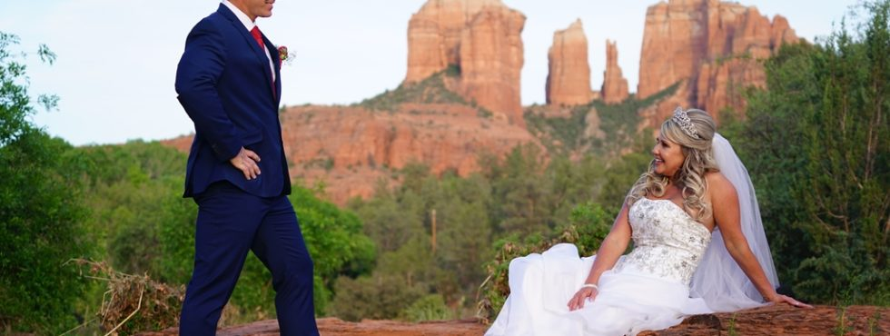 Chris & Veronica's Sedona Wedding at Red Rock Crossing