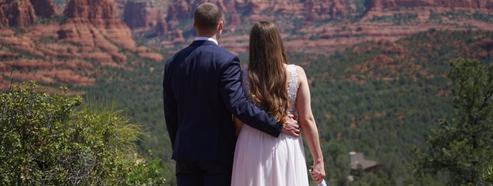 Taylor & Kyle's Sedona Wedding at Magic Vista