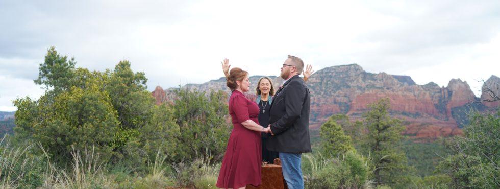 Christina & Gregory's Sedona Wedding at Magic Vista