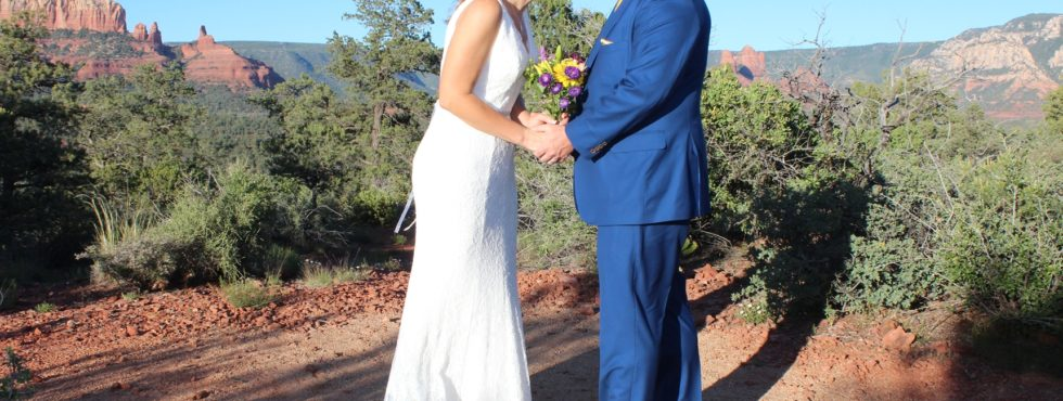 Julie & Shawn's Sedona Wedding at Magic Vista