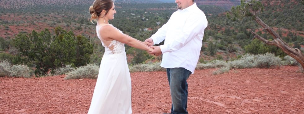 Josh & Paula's Sedona Wedding at Lover's Knoll