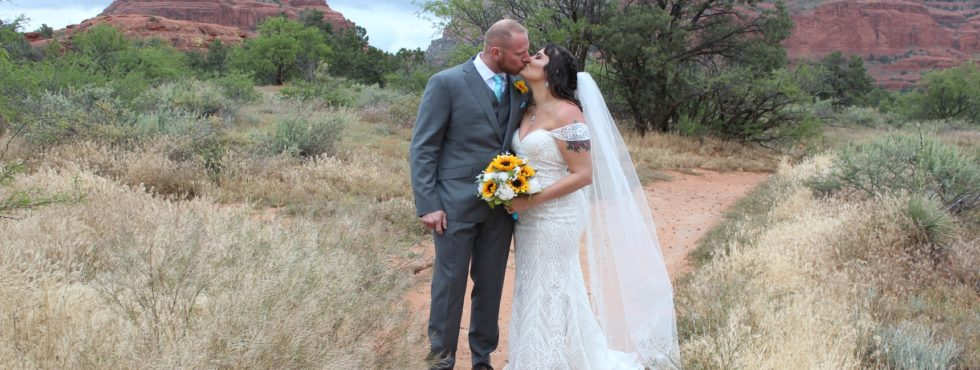 Tayler and Brent's Sedona Wedding at Red Agave Resort