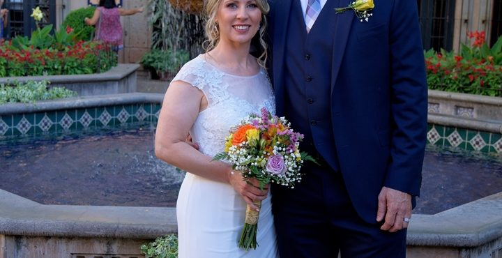 Robert and Melissa's Sedona Wedding at Tlaquepaque Chapel