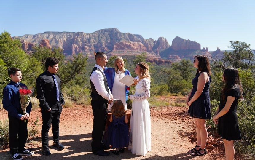 Jordan and Vincent's Commitment Ceremony at Magic Vista