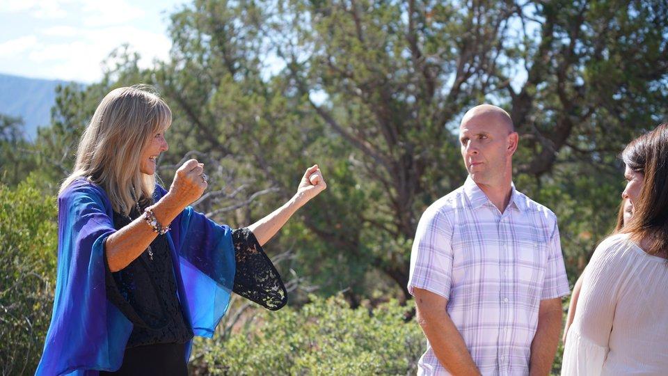Timothy and Amanda's Sedona Wedding at Magic Vista