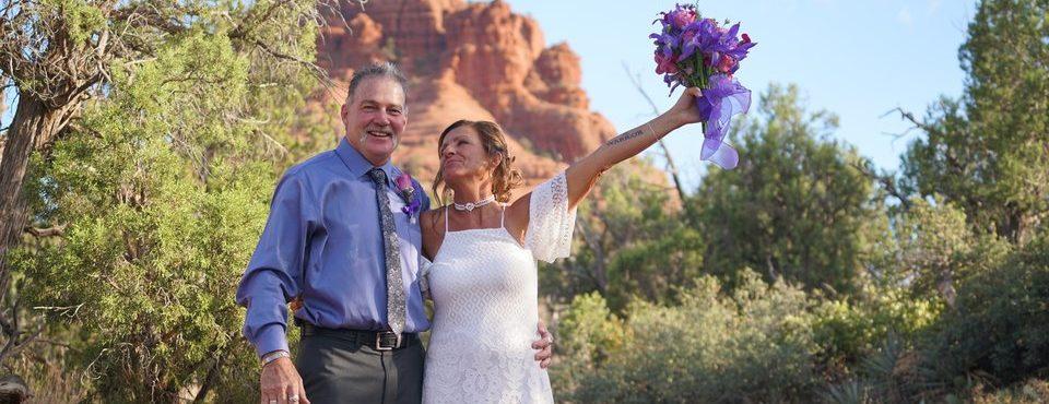 Jackie & Edwards Bell Rock Ceremony