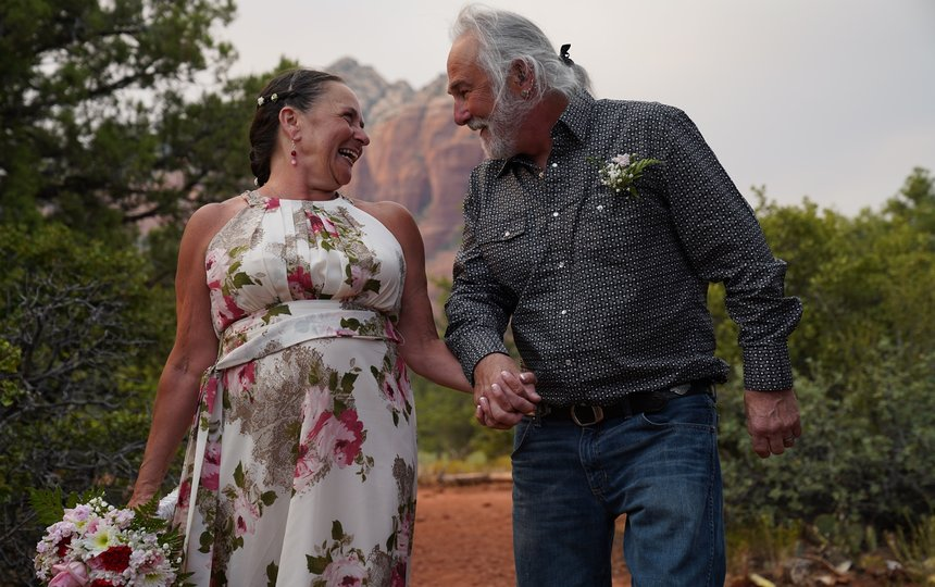 Shirley & Tony's Sedona Wedding at Magic Vista