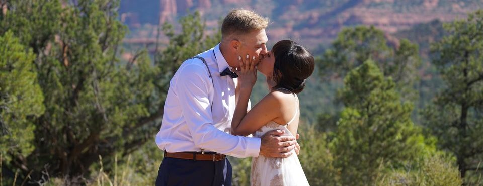 William & Fatima's Sedona Memories Wedding at Magic Vista.