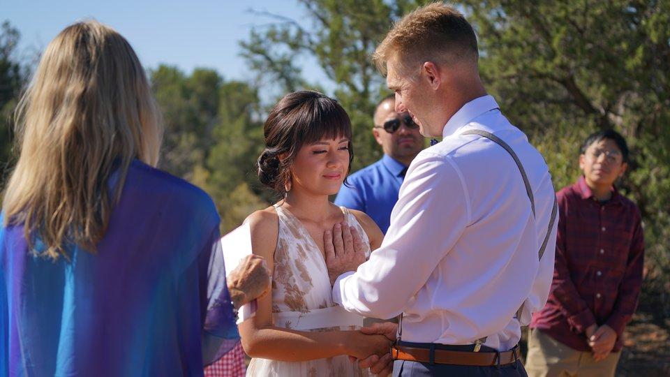 William & Fatima's Sedona Memories Wedding at Magic Vista