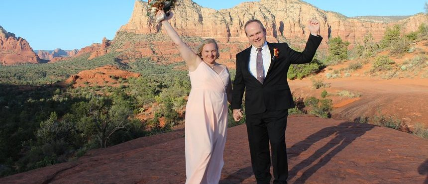 Jennifer & Jeff's Sedona Wedding at Bell Rock